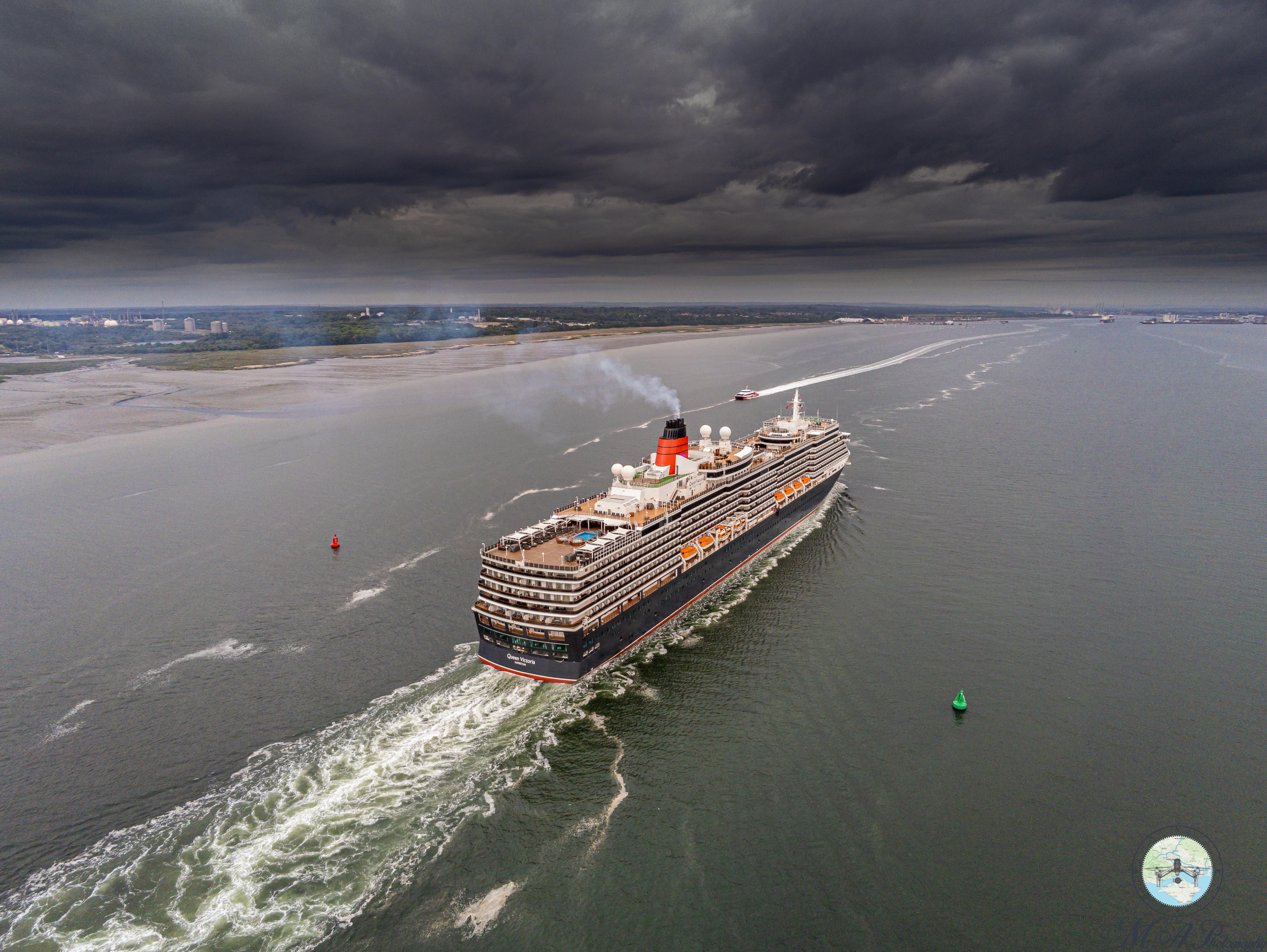Queen Victoria Cunard Southampton Cruise