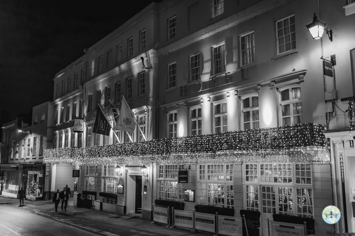 Windsor Hotel Luxury London Christmas