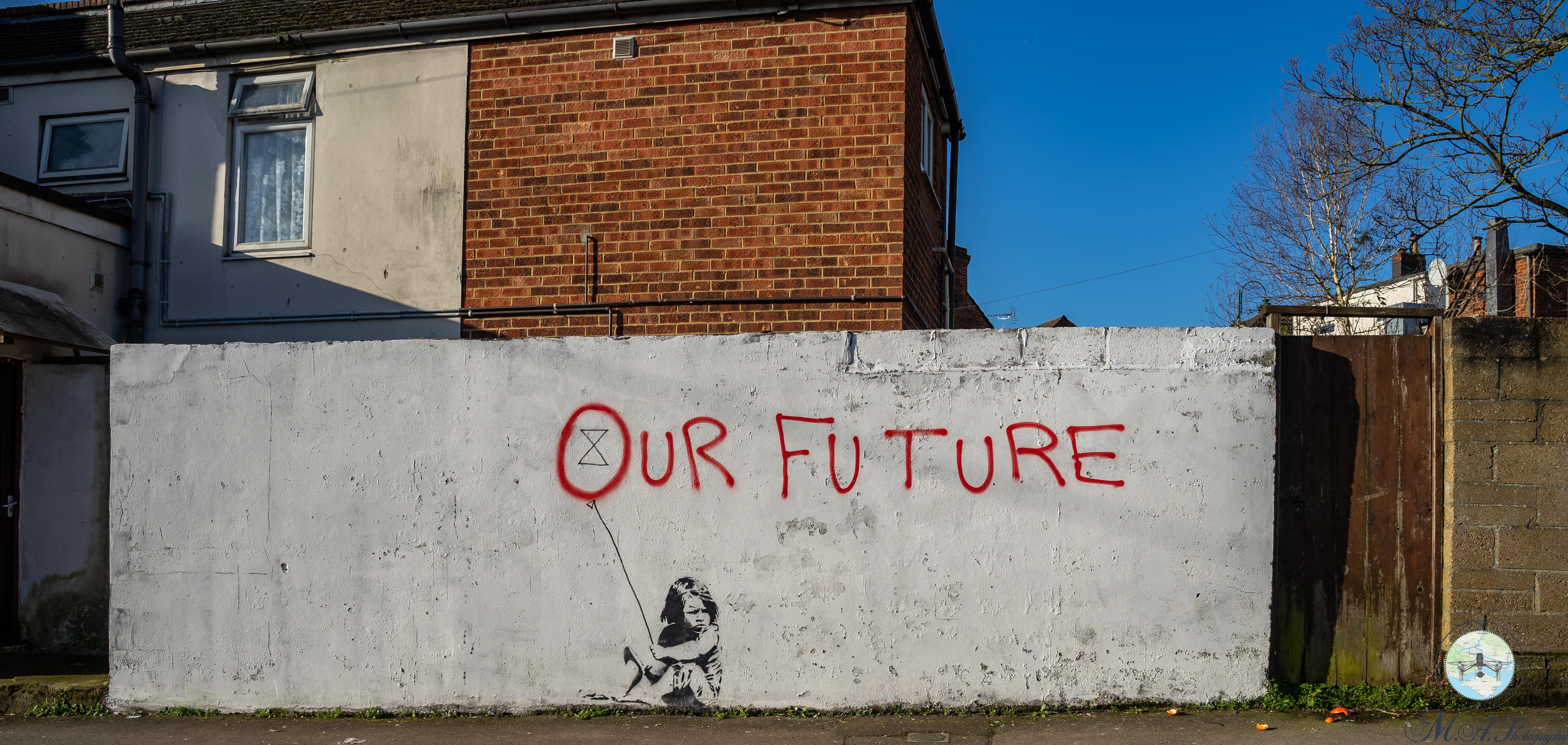 Banksy Southampton Our Future